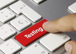 Testing. Keyboard
