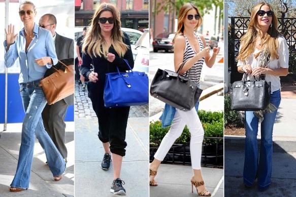 Hermès Birkin Tasche Heidi Klum Miranda Kerr