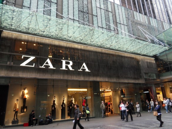 Zara Sydney