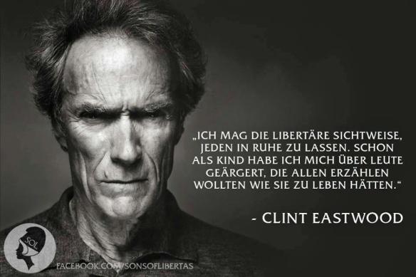 Clint Eastwood Libertarismus