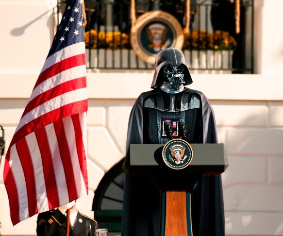 Darth Vader US Präsident