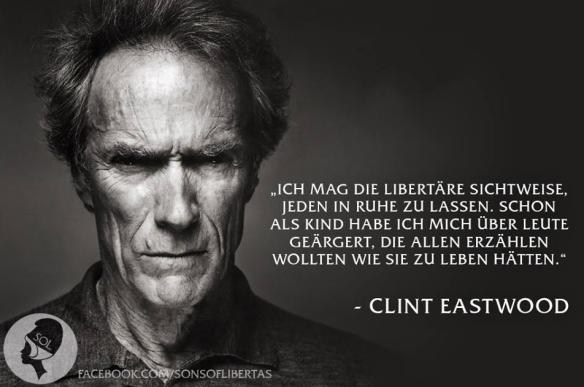 Libertarismus Clint Eastwood