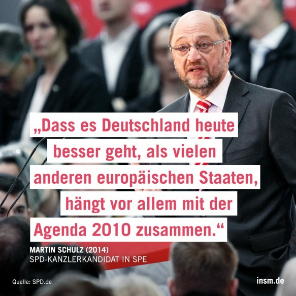 Martin Schulz Agenda 2010
