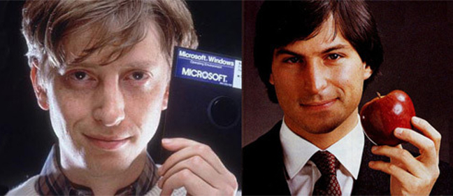 gates vs jobs Bill gates vs steve jobs 512 likes 2 talking about this this page is here to discuss apple computers vs microsoft steve jobs vs bill gates anything.