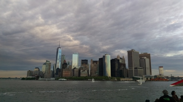 Manhattan Skyline Wolken